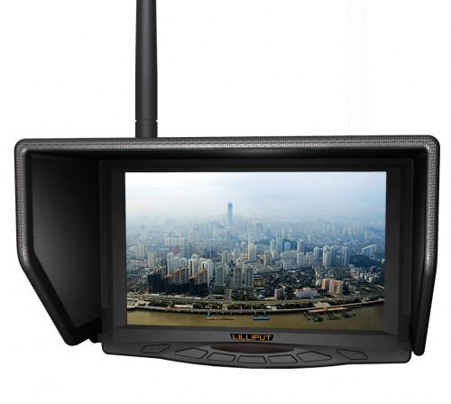 MONITOR 5.8GHz 7'' LILLIPUT FPV329W FPV