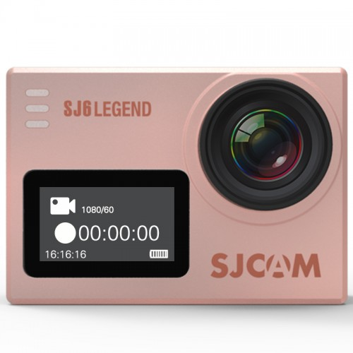 Kamera SJ6 Legend  SJCAM WiFi 4K 60FPS Panasonic Rose Gold