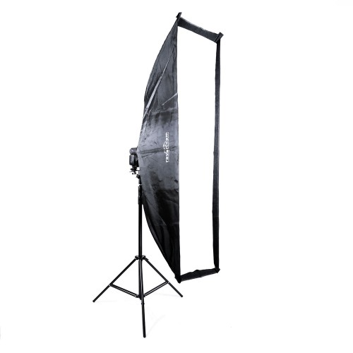 Zestaw Softbox 35x140 + adapter + dyfuzor