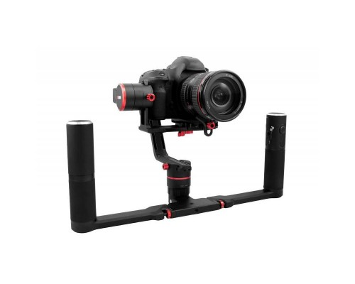 Gimbal Feiyu Tech A2000 Dual Grip Kit Case VDSLR